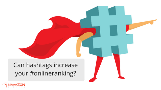 Can hashtags increase your online ranking?