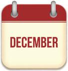 social media calendar for December 2017