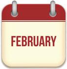 social media calendar for February 2017