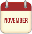 social media calendar for November 2017