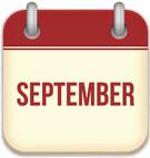 social media calendar for September 2017
