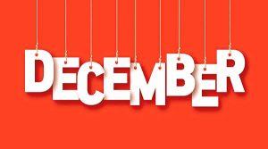 social media calendar December 2017