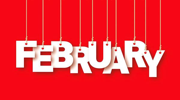 social media calendar February