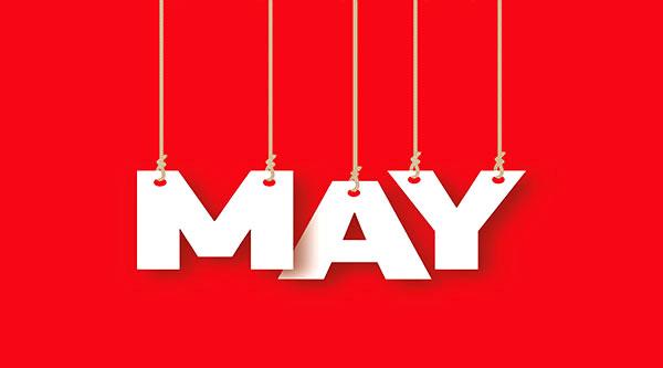 social media calendar May 2017