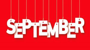 social media calendar September 2017