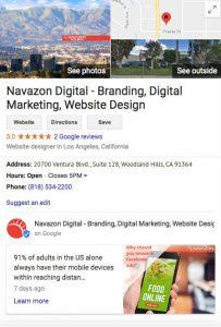 directory listings navazon digitial Los Angeles