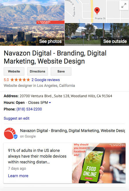 directory listings navazon digitial Los Angeles