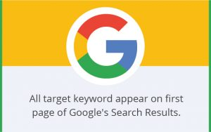 SEO Results Top ranking keywords
