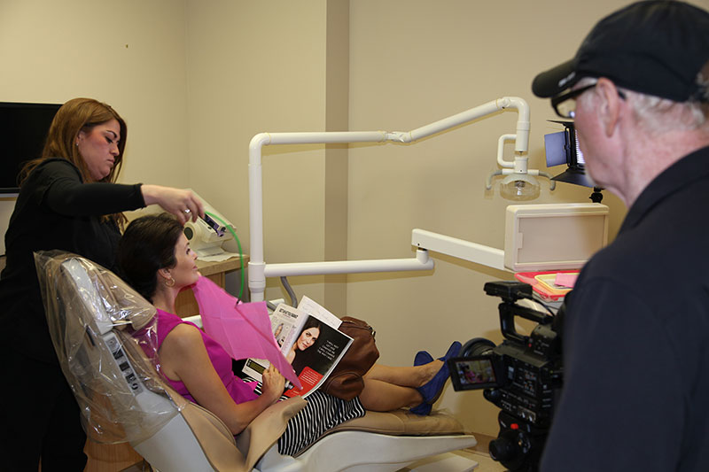 Behind the Scenes Hygienist Scene