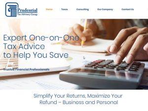 Website Design LA Tax Advisor
