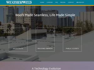 Website Design - WeatherWeld