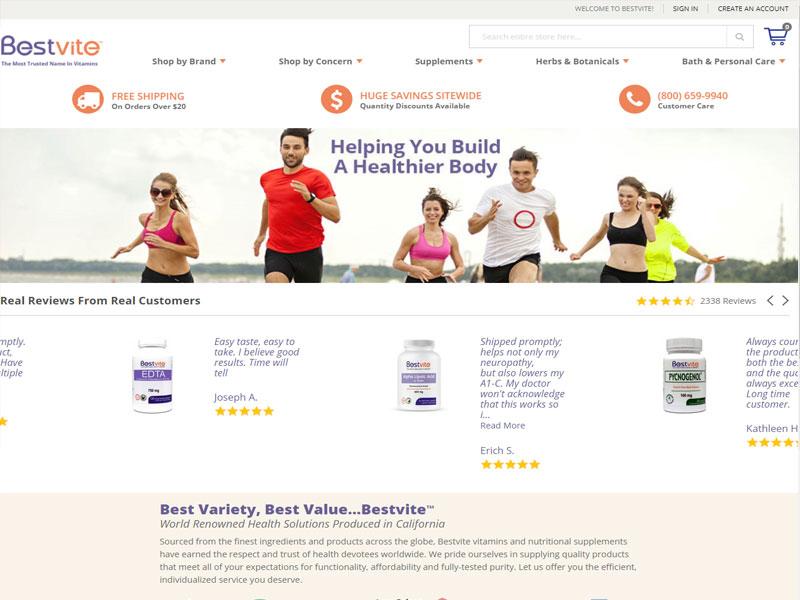 Bestvite-Webpage