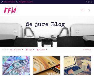TFM Law Website