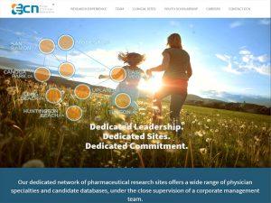 Elite Clinical Network Website