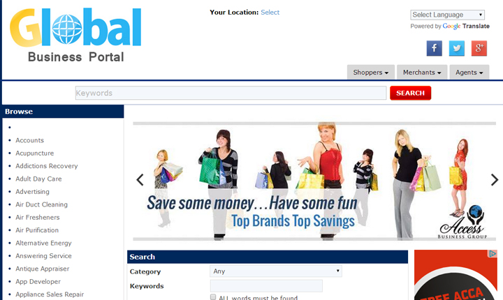 Global Business Portal
