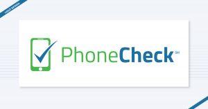 PhoneCheck logo design