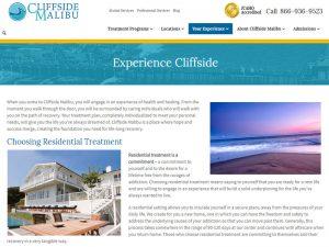 cliffside-experience-webpage-portfolio