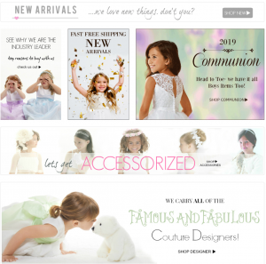 Flower Girl Dress for Less Dresses Page