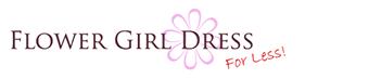 Flower Girl Dress for Less Logo