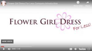 Flower Girl Dresses for Less Portfolio