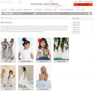 Flower Girl Dress For Less Portfolio