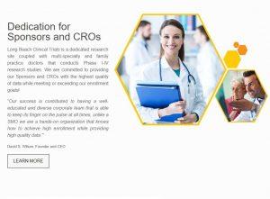 Long Beach Clinical Trials Website