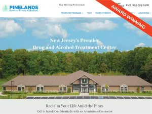 Pinelands Recovery Center Award Winning