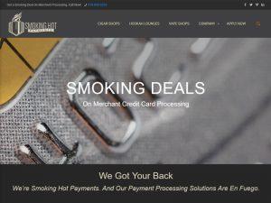 Website Design Smoking Hot Payments