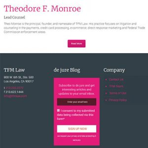 TFM Footer for Website