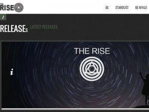 Website Design for Musician Website