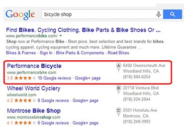 Google Local Marketing Ad Positions
