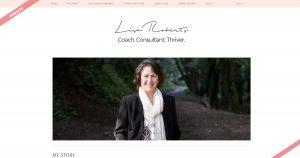 Navazon Website Design for Lisa Roberts