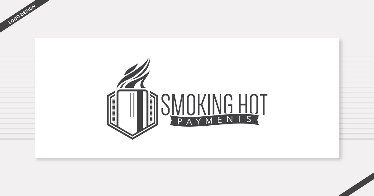 Logo Design-Smoking-Hot