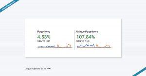 Unique Page views Ramin USA Los Angeles Marketing Agency Los Angeles