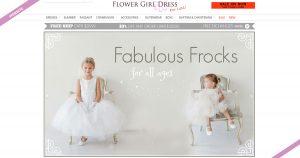 Website Design-flower-girl-dress-for-less-