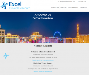 Excel Clinical Research Web