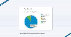 PhoneCheck Marketing Results Pie Chart