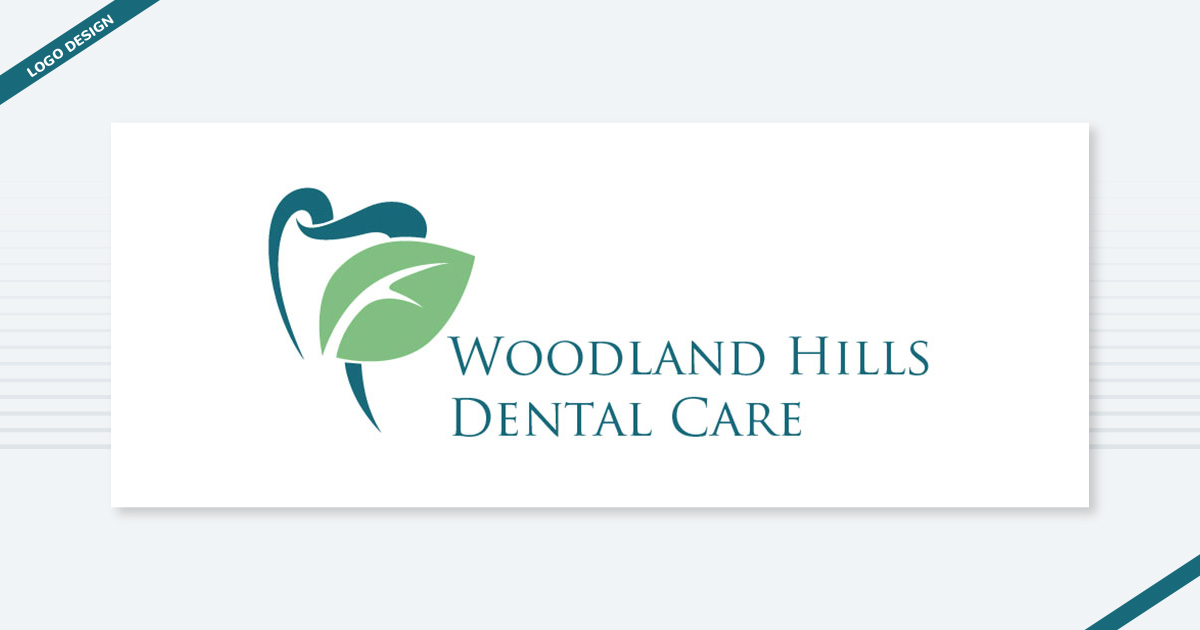 Woodland Hills Dental Care Logo Design Digital Marketing Agency