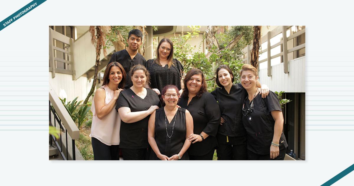 Woodland Hills Dental Care Staff Photography Digital Marketing Agency