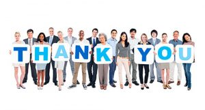 Say Thank You to your customers