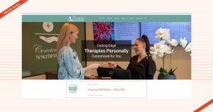 Concierge IV Nutrition Website Design
