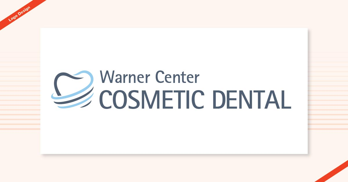 Warner Cosmetic Dental Logo Design