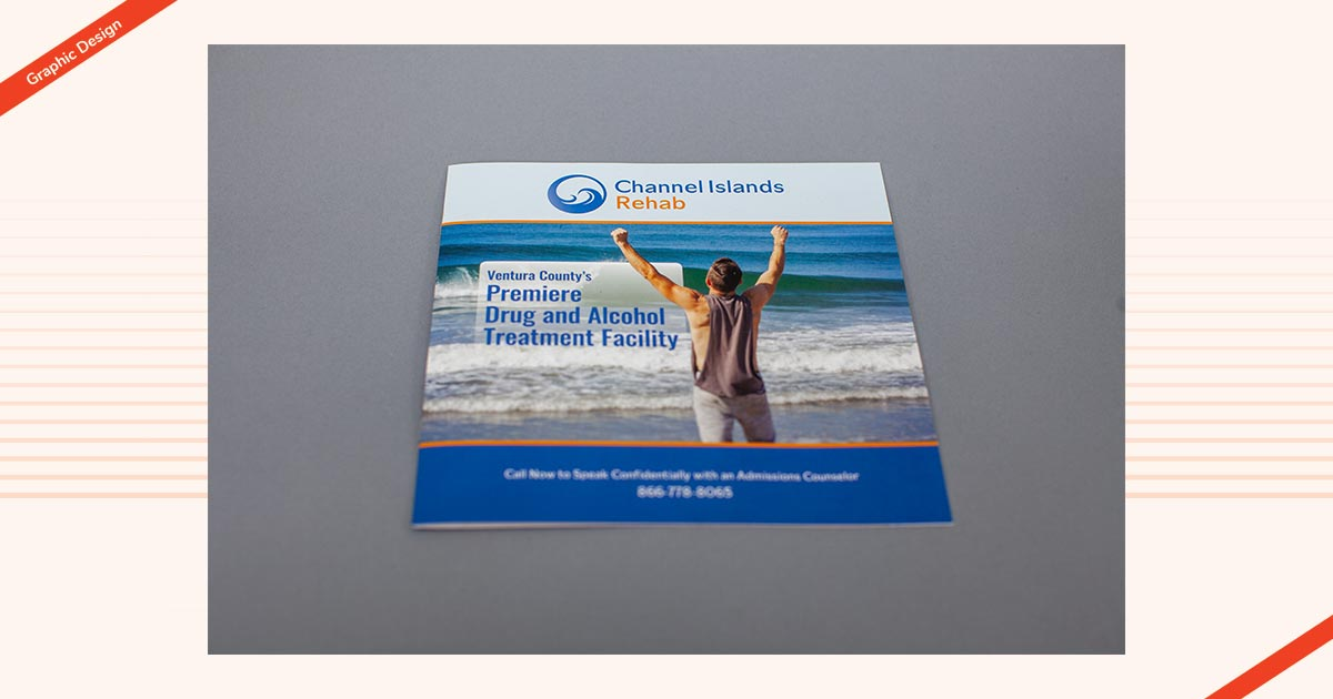 Channel Islands Graphic Design Brochure