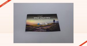 NuLife Recovery Graphic Design Brochure