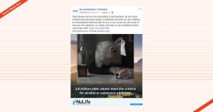Nulife Recovery Social Media Post Facebook