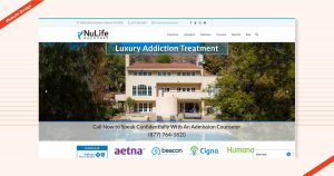 Nulife Recovery Website Design