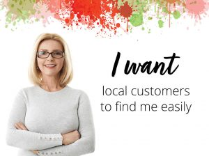 I want local customers slide