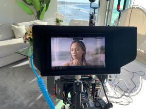 Video production behind the scenes malibu