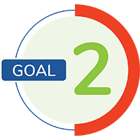 goal number 2 icon