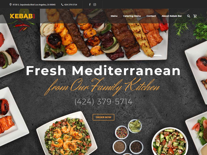 Kebab Bar Portfolio Image